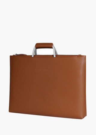 [EXCLAMATION MARK] No.B#E101ESCA BRIEF CASE [BROWN]