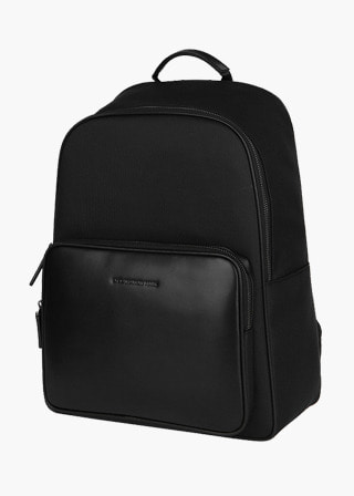 [EXCLAMATION MARK] No.B#E203GRIZ BACK PACK [BLACK]