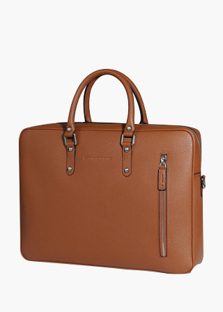 [EXCLAMATION MARK] No.B#E103MALLEE BRIEF CASE [BROWN]