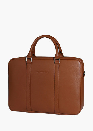 [EXCLAMATION MARK] No.B#E102NORD BRIEF CASE [BROWN]