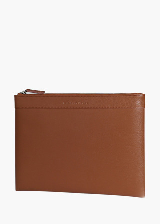 [EXCLAMATION MARK] No.B#E104AUDACE CLUTCH [BROWN]